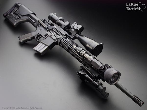 Larue Tactical 5 56 Stealth Sniper System Lt011 Larue